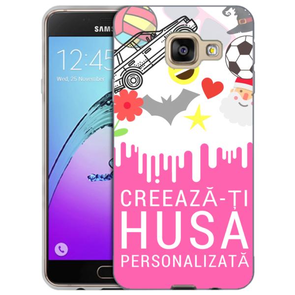 Husa Personalizata Samsung Galaxy A5 2017 Slim Silicon TPU