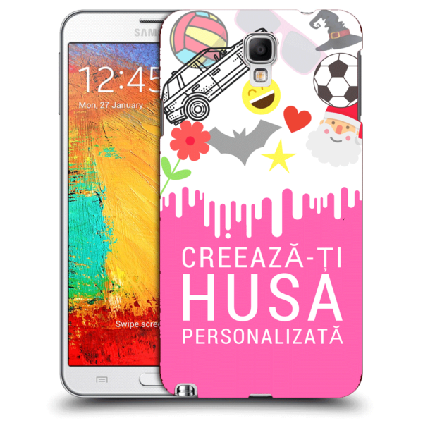 Husa Personalizata Samsung Galaxy Note 3 Neo N7505 Slim Silicon TPU