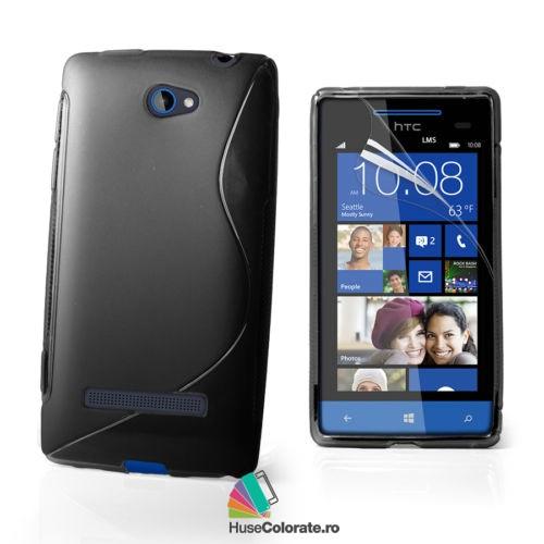 Husa_Gel_Silicon_HTC_Windows_Phone_8S_Model_S_Neagra