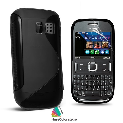 Husa_Gel_Silicon_Nokia_Asha_302_Model_S_Neagra