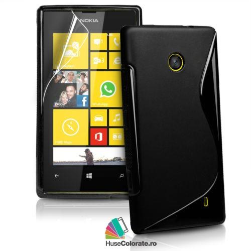 Husa_Gel_Silicon_Nokia_Lumia_520_Model_S_Neagra