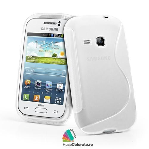 Husa_Gel_Silicon_Samsung_S6310_Galaxy_Young_Model_S_Alba_Semitransparenta