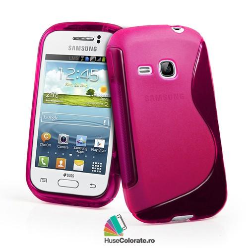 Husa_Gel_Silicon_Samsung_S6310_Galaxy_Young_Model_S_Roz