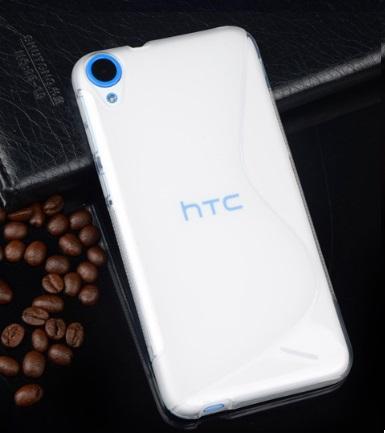Husa_HTC_Desire_820_Silicon_Gel_Tpu_S-Line_Alba_Semitransparenta