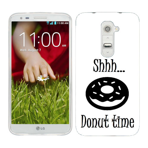 Husa_LG_G2_Silicon_Gel_Tpu_Model_Donut_Time