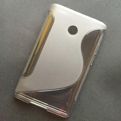 Husa_LG_Optimus_L3_E400_Silicon_Gel_TPU_S-Line_Gri