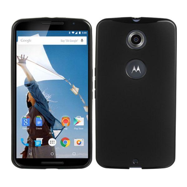 Husa_Motorola_Google_Nexus_6_Silicon_Gel_Tpu_Matte_Neagra