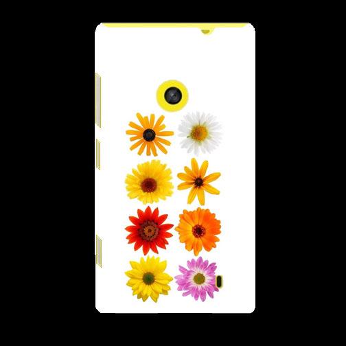 Husa_Nokia_Lumia_520_Plastic_Slim_Model_Flowers