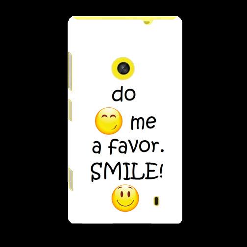 Husa_Nokia_Lumia_520_Plastic_Slim_Model_Smile