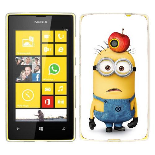 Husa_Nokia_Lumia_520_Silicon_Gel_Tpu_Model_Minions