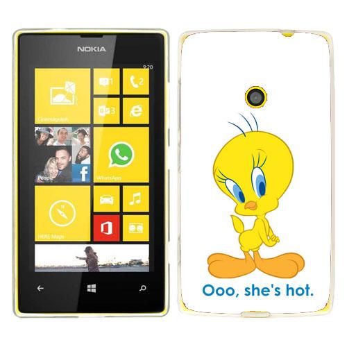 Husa_Nokia_Lumia_520_Silicon_Gel_Tpu_Model_Tweety