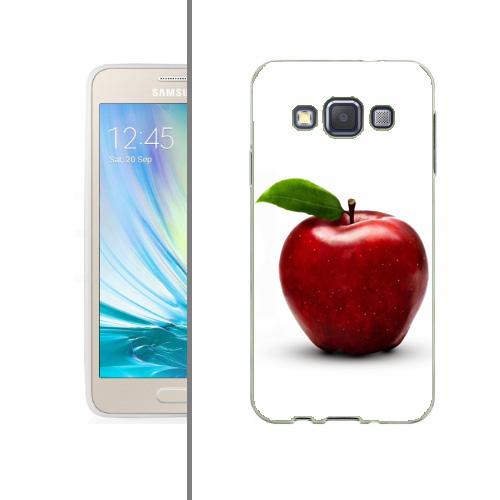 Husa_Samsung_Galaxy_A3_Silicon_Gel_Tpu_Model_Red_Apple