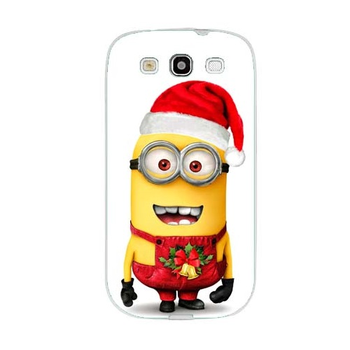 c9b9899d943 Husa Samsung Galaxy S3 i9300 i9301 S3 Neo Slim Model Craciun Minion  Christmas