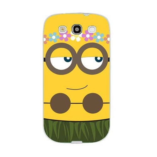 d3833ef8406 Husa Samsung Galaxy S3 i9300 i9301 S3 Neo Slim Model Minion Girl ...