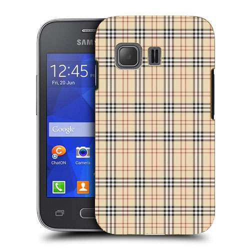 Husa_Samsung_Galaxy_Young_2_G130_Silicon_Gel_Tpu_Model_Burberry_Pattern