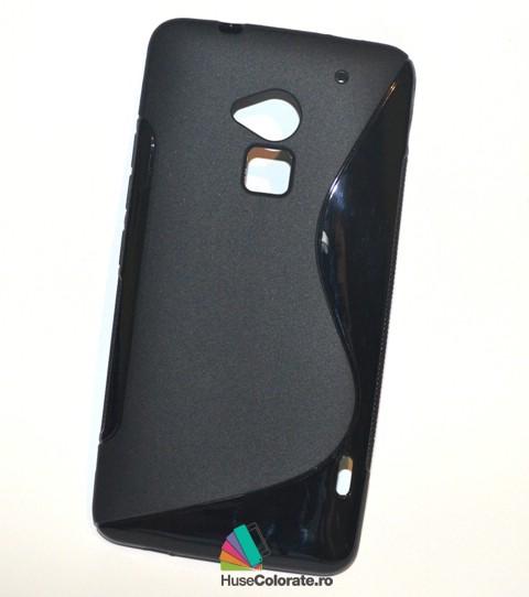 Husa_Silicon_Gel_HTC_One_Max_Model_S-Line_Neagra