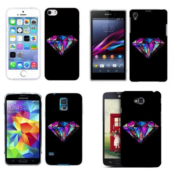Husa_Silicon_Gel_Tpu_Model_Diamond_Black_All_Phones