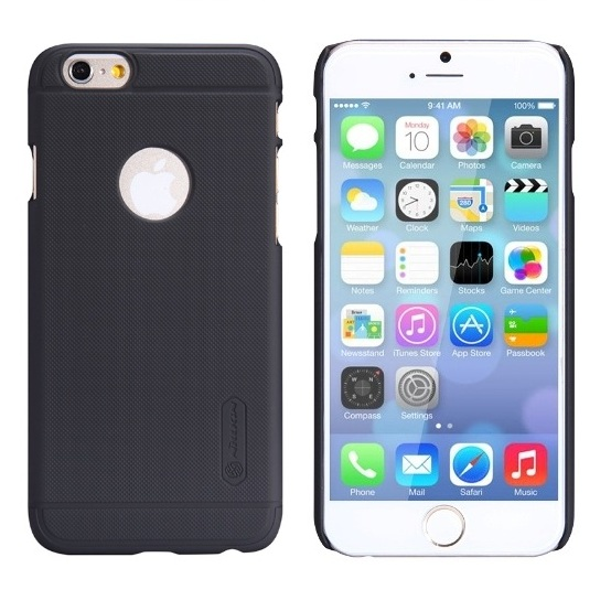12282afcead Husa iPhone 6 / 6S Nillkin Super Frosted Shield Neagra – HuseColorate.ro