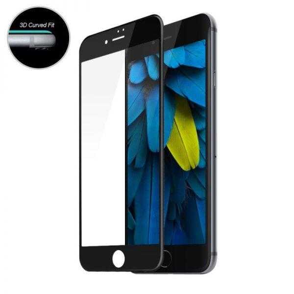 Folie-Sticla-iPhone-6S-Plus-Neagra-Full-Cover-3D-Protectie-Ecran-Antisoc-Tempered-Glass