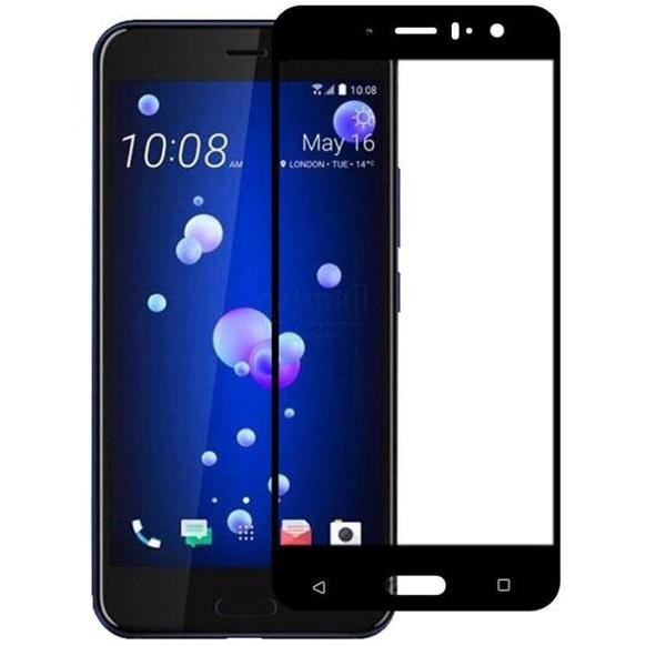 Sticla Full Cover Neagra HTC U11