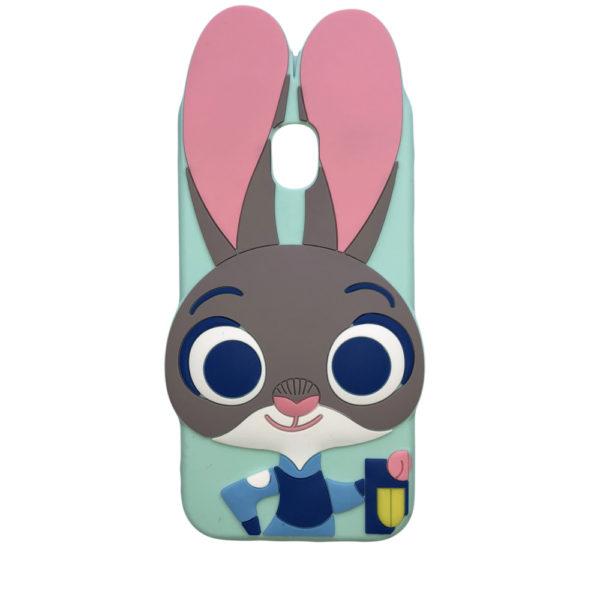 Husa 3D iepuras Samsung J3 2017 J5 2017