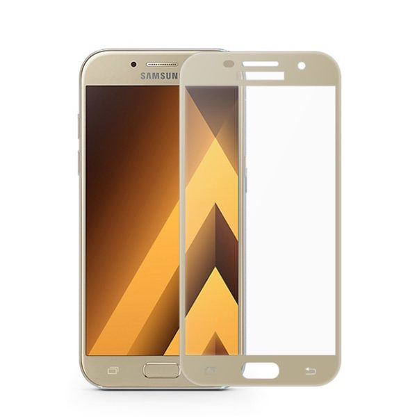 Sticla Full Samsung A5 2017 gold