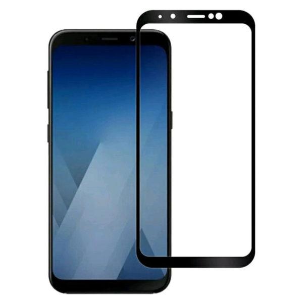 Sticla Full Samsung A8 2018 Black