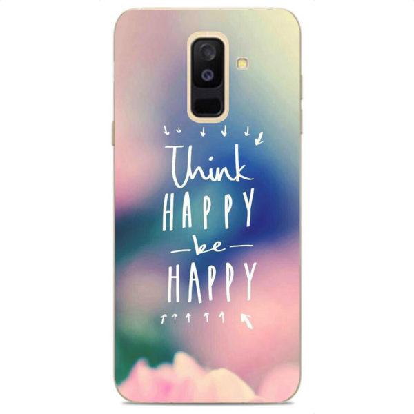 Husa-Samsung-Galaxy-A6-Plus-2018-Silicon-Gel-Tpu-Model-Think-Positive