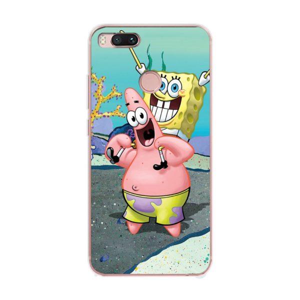 Husa-Xiaomi-Mi-A1-Silicon-Gel-Tpu-Model-Spongebob