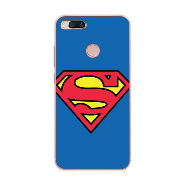 Husa-Xiaomi-Mi-A1-Silicon-Gel-Tpu-Model-Superman