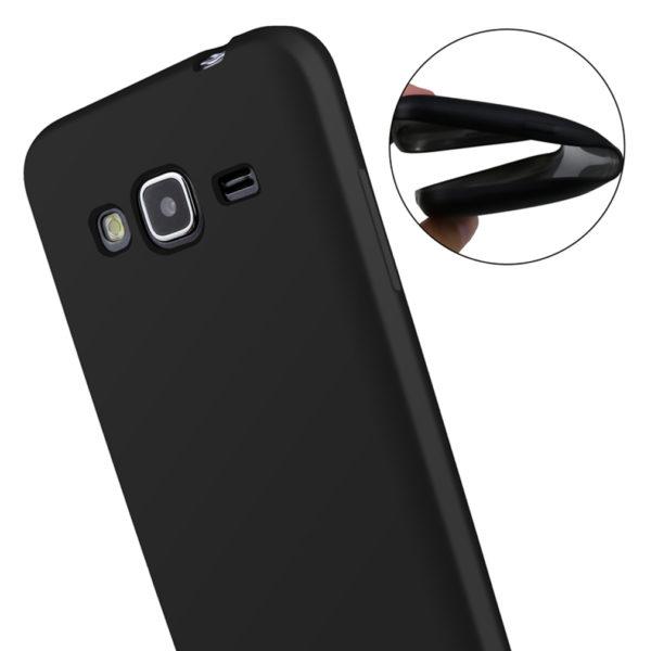 Husa Samsung Galaxy J3 2016 J320 Silicon Tpu Ultra Slim Matte Neagra