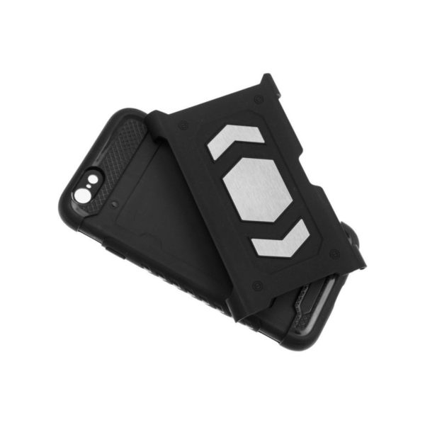 Husa iPhone 6 6S 7 8 Silicon TPU Magnetic Armour Vennus Black