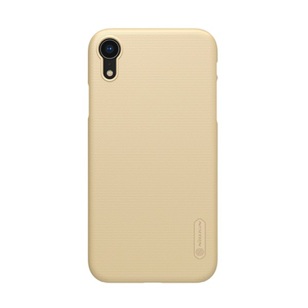 Husa iPhone XR Nillkin Super Frosted Shield Gold Aurie