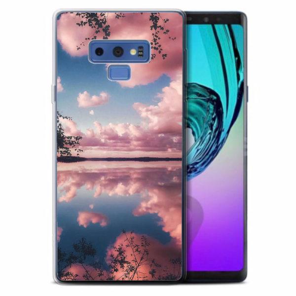 Husa-Samsung-Galaxy-Note-9-Silicon-Gel-Tpu-Model-Pink-Clouds
