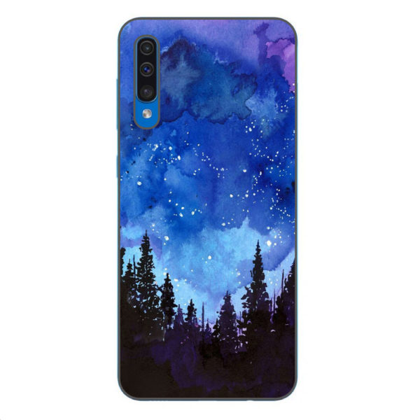 Husa-Samsung-Galaxy-A70-Silicon-Gel-Tpu-Model-Night-Forest