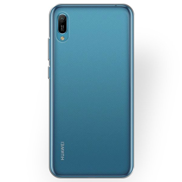 Husa Huawei Y6 2019 Super Slim 0.5mm Silicon Gel TPU Transparenta