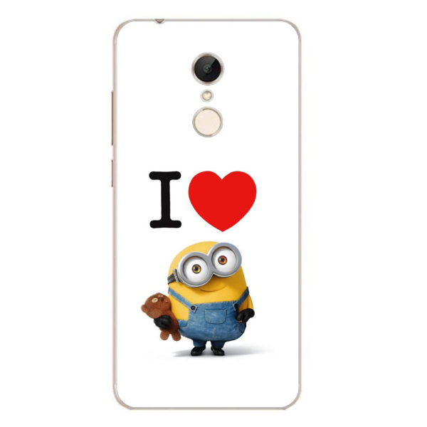 Husa-Xiaomi-Redmi-5-Plus-Silicon-Gel-Tpu-Model-I-Love-Minions