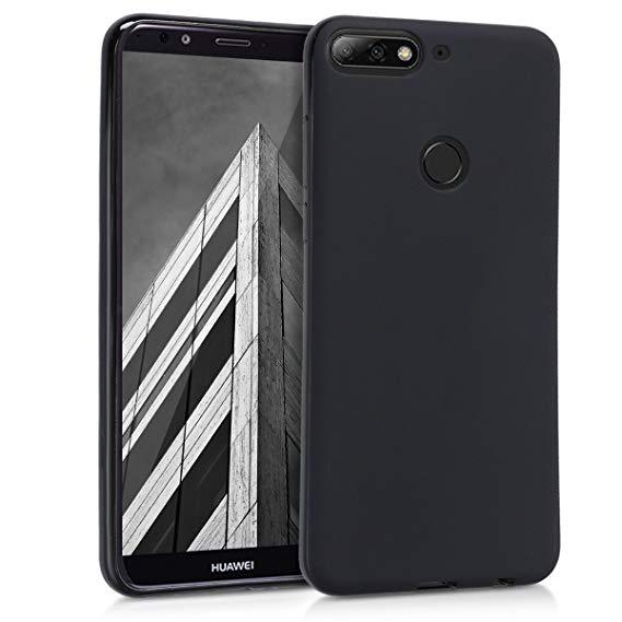 Husa Huawei Y7 2018 Slim Silicon TPU Matte Neagra