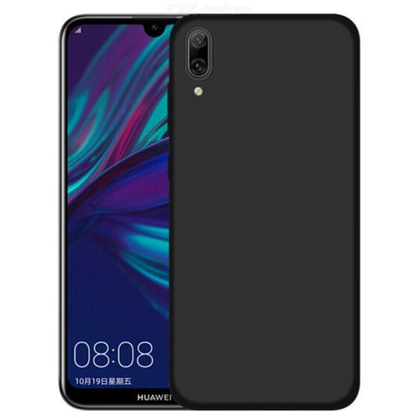 Husa Huawei Y7 2019 Slim Silicon TPU Matte Neagra