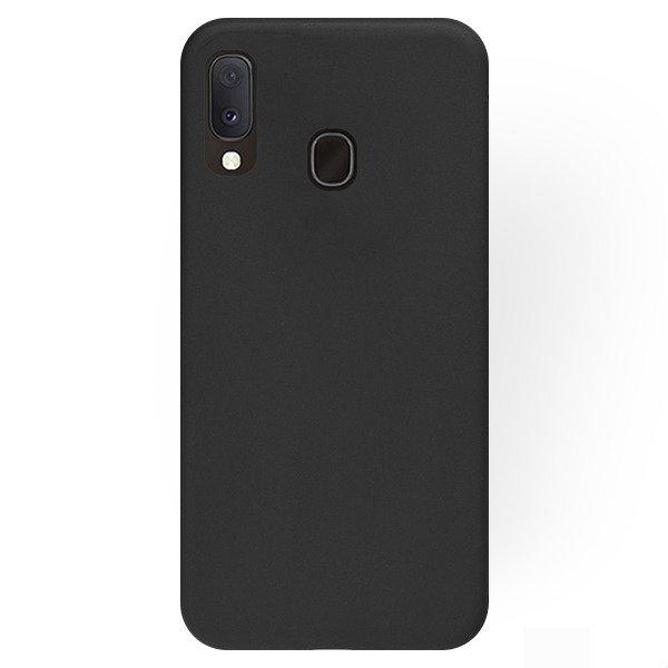 Husa Samsung Galaxy A20e Slim Silicon TPU Matte Neagra