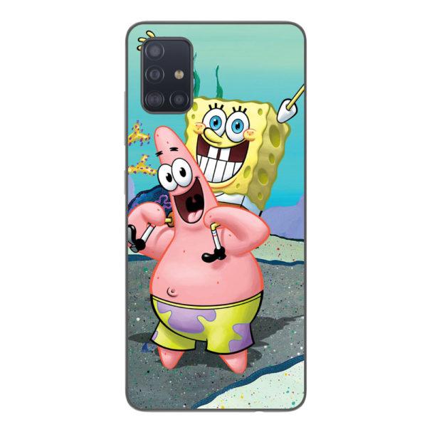 Husa-Samsung-Galaxy-A51-Silicon-Gel-Tpu-Model-Spongebob
