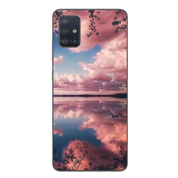 Husa-Samsung-Galaxy-A71-Silicon-Gel-Tpu-Model-Pink-Clouds
