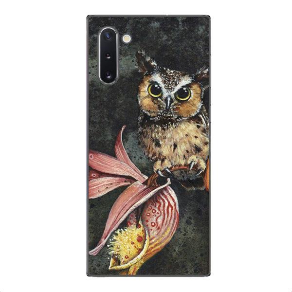 Husa-Samsung-Galaxy-Note-10-Silicon-Gel-Tpu-Model-Owl-Painted