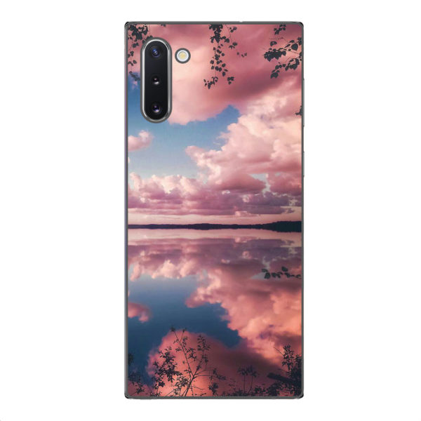 Husa-Samsung-Galaxy-Note-10-Silicon-Gel-Tpu-Model-Pink-Clouds