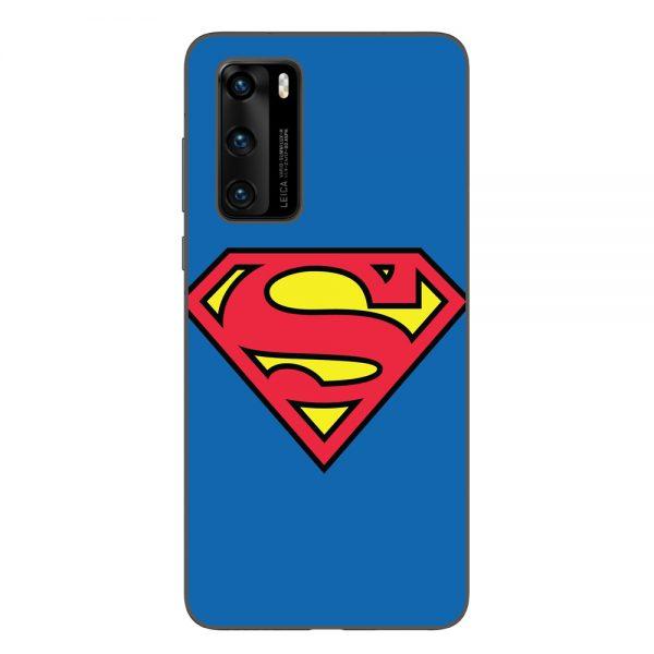 Husa-Huawei-P40-Silicon-Gel-Tpu-Model-Superman