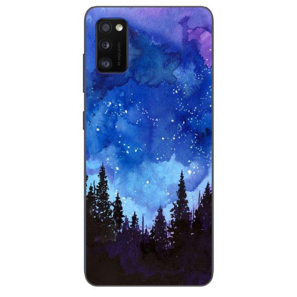 Husa-Samsung-Galaxy-A41-Silicon-Gel-Tpu-Model-Night-Forest