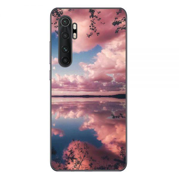 Husa-Xiaomi-Mi-Note-10-Lite-Silicon-Gel-Tpu-Model-Pink-Clouds