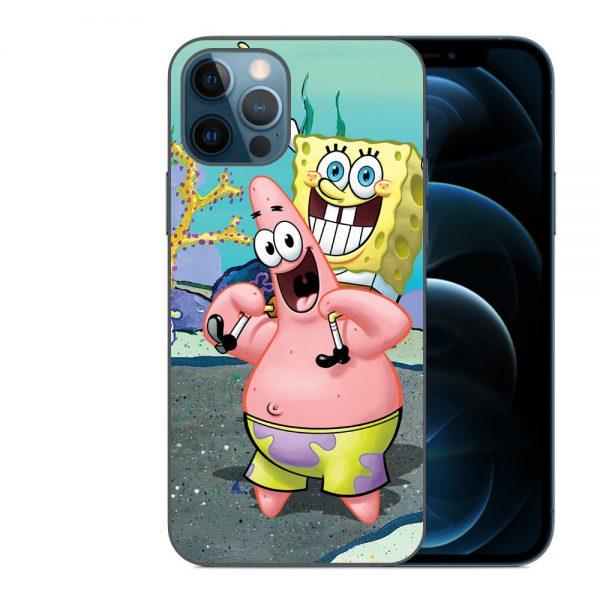 Husa-iPhone-12-Pro-Max-Silicon-Gel-Tpu-Model-Spongebob