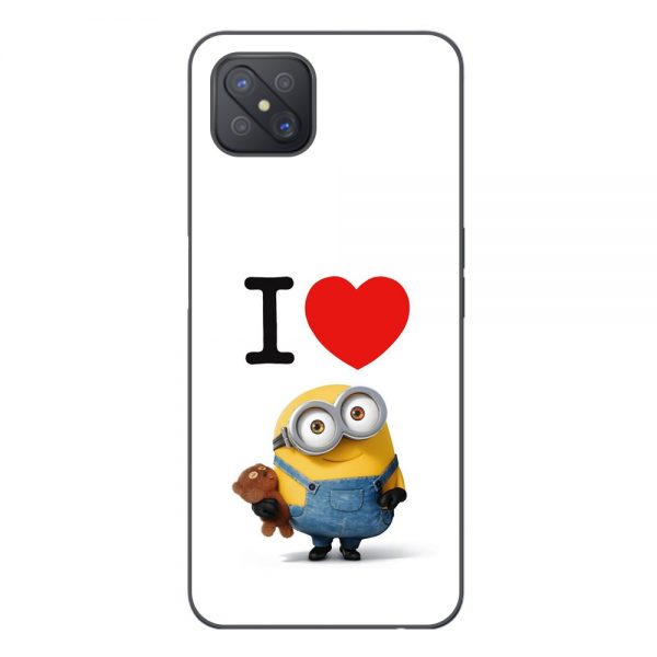 Husa-Oppo-Reno4Z-5G-Silicon-Gel-Tpu-Model-I-Love-Minions