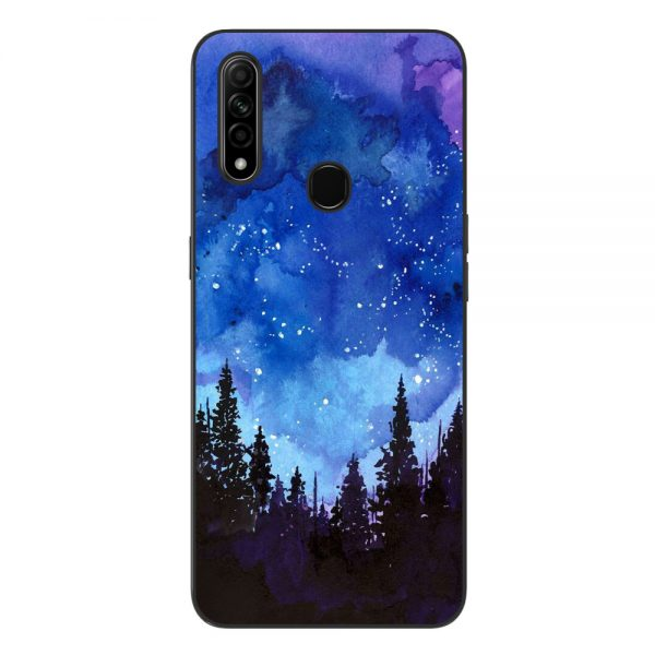 Husa-Oppo-A31-Silicon-Gel-Tpu-Model-Night-Forest